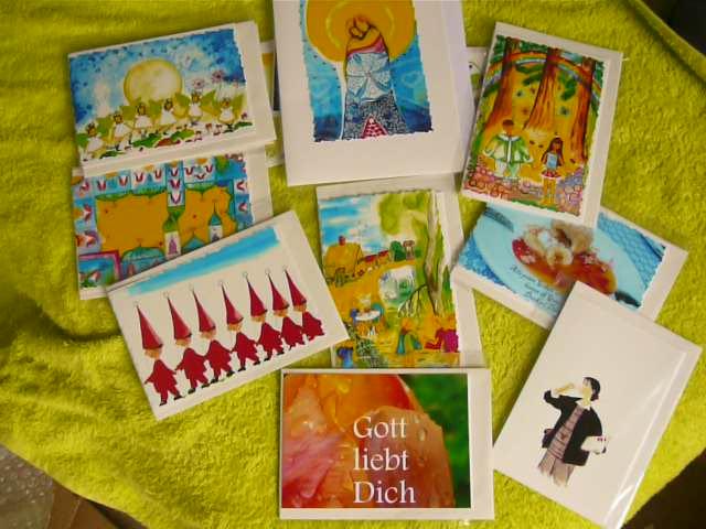 eine kleine auswahl meiner bilder als postkarten